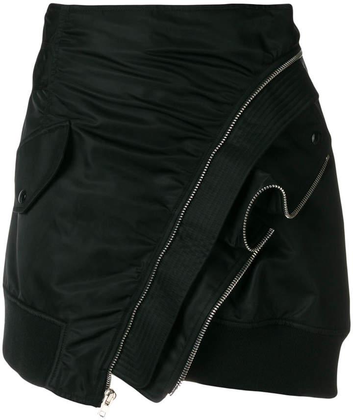 Alexander Wang Deconstructed Bomber skirt