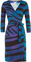 Diane von Furstenberg Silk-Jersey Wrap Dress