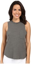 LnA Mock Neck Muscle Tank Top
