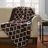 Simmons Heated Ogee Oversized Throw Blanket