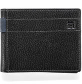 Haggar Pebble Passcase Leather Wallet