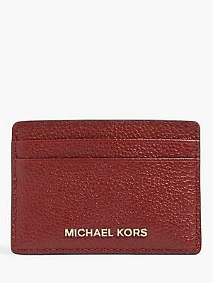 Michael Kors MICHAEL Jet Set Leather Travel Card Holder