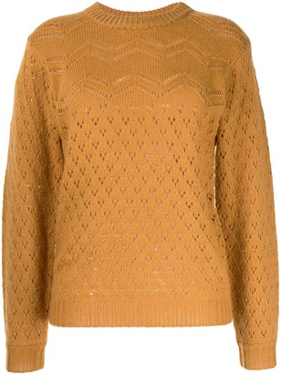 Karen Walker Open Knit Jumper