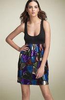 'Patchwork Flirt' Dress