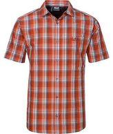 Jack Wolfskin Fairford Shirt - Short-Sleeve - Men's Chili Checks S