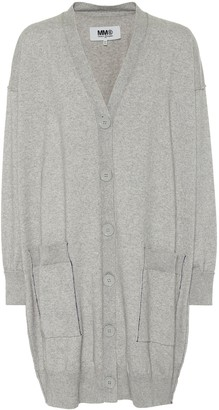 MM6 MAISON MARGIELA Cotton and cashmere cardigan