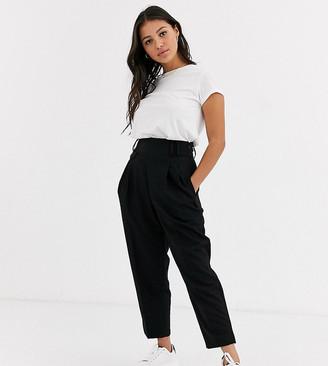 Asos DESIGN Petite tailored smart high waist balloon pants