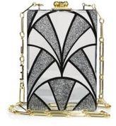 Edie Parker Carol Nouveau Acrylic Clutch