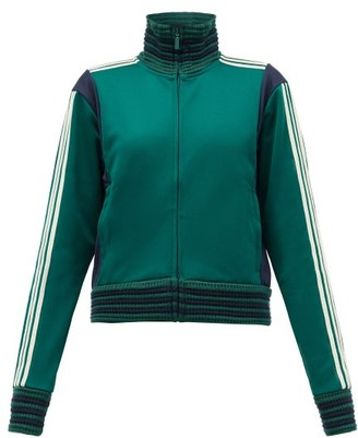 Adidas X Wales Bonner - Lovers Crochet-ribbed Technical Track Top - Green