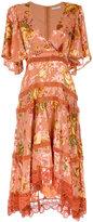 Martha Medeiros floral midi dress