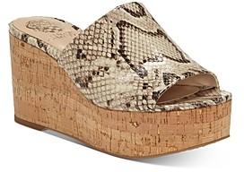 Vince Camuto Women's Gadgen Slip On Platform Sandals