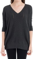 Max Studio 3⁄4-Length Sleeved Pullover
