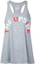 The Upside logo tank top - women - Cotton - XXS