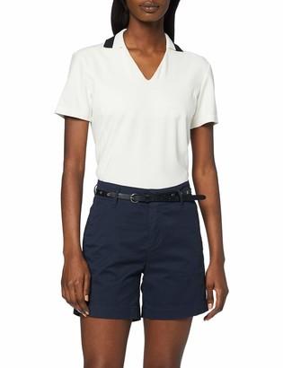Scotch & Soda Women's Longer Length Chino Shorts Sold with A Belt