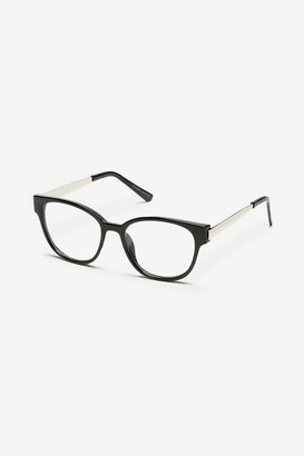 Ardene Clear Wayfarer Glasses