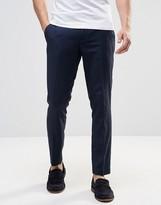 Sisley Tonal Polka Dot Trousers in Slim Fit