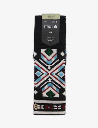 Stance Konsburgh fair isle-pattern woven ski socks