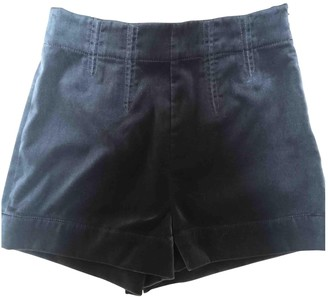 Etro Anthracite Shorts for Women