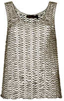 Kate Moss for topshop **ring detail vest