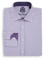 English Laundry Regular-Fit Windowpane Check Dress Shirt