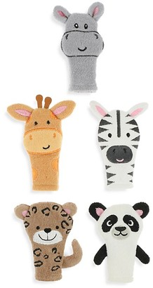 Capelli New York Kid's 5-Piece Animal Finger Puppet Set