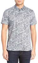Ted Baker Men's Kryko Extra Slim Fit Print Sport Shirt