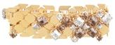 Lanvin Chain Lumiere crystal-embellished bracelet