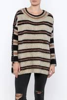 Free People Sid Stripe Tunic Sweater