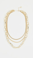Jules Smith Designs Triple Layered Chain Necklace