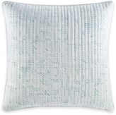Nautica Long Bay Quilted Square Throw Pillow in White