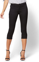 New York & Co. The Crosby Pant - Cropped Slim-Leg - Black