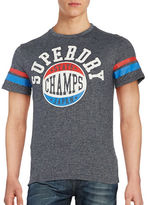 Superdry Cotton-Blend Logo Tee
