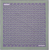 Turnbull & Asser Turnbull & Asser Paisley Zigzag Silk Pocket Square