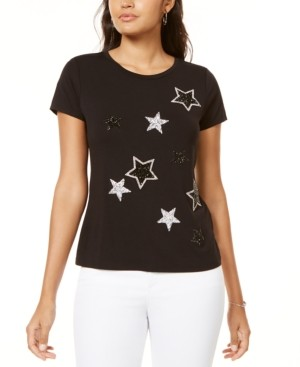 INC International Concepts Inc Star T-Shirt, Created for Macy's