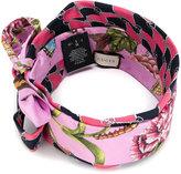 Gucci floral bow detail headband