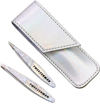 Tweezerman HollyGraphic Mini Slant & Point Tweezer Set