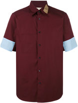 Marni colour block shirt - men - Cotton - 50