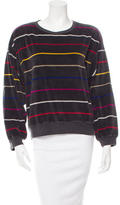 Sonia Rykiel Striped Pullover Sweatshirt
