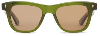 Jacques Marie Mage X Yellow Stone Forever Fitzgerald Sunglasses - Green