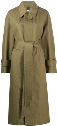 Ami Oversize Belted Coat