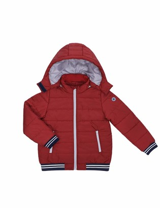DISHANG Kids Removable Hooded Jacket Warm Quilted Coat Casual Outdoor Cool Cute for Boys Girls Ski Snowboard Jacket