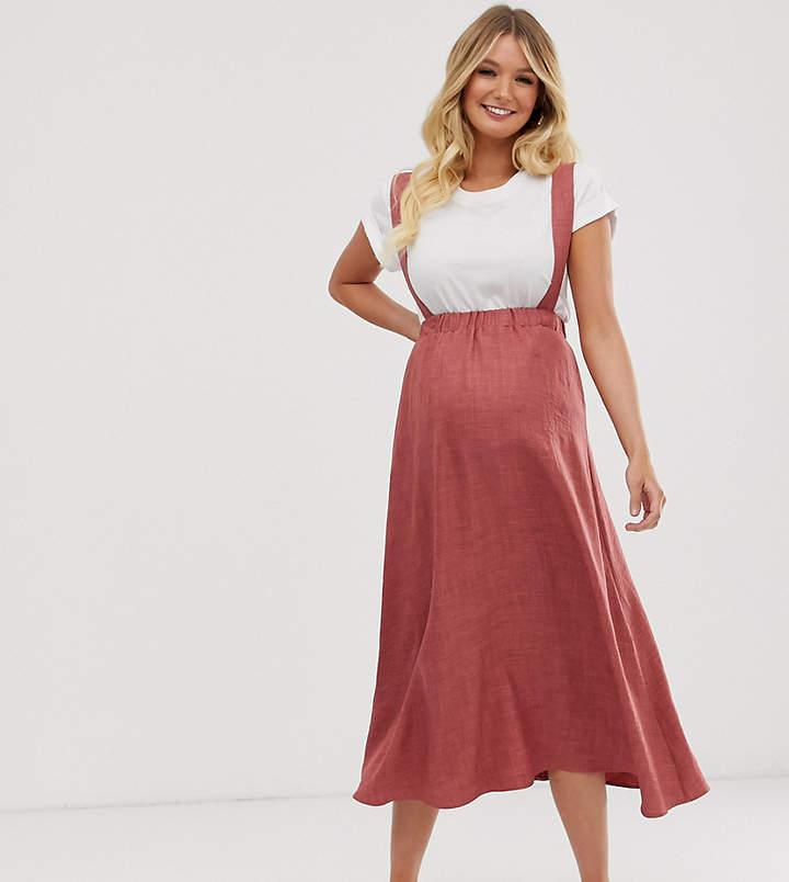 69dc42438827a Maternity Midi Skirts - ShopStyle
