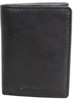 James Campbell Men's Leather Wallet - Black