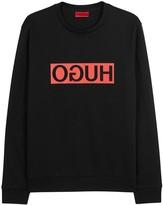 Hugo Dicago Printed Cotton Sweatshirt