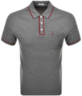 Original Penguin Earl Polo T Shirt Grey