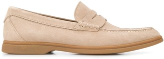 Brunello Cucinelli Almond Toe Penny Loafers