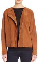 Vince Nubuck Oversized Jacket