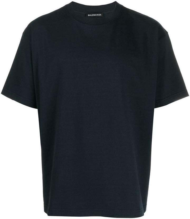 4546c339 Balenciaga Logo T-shirt Men - ShopStyle