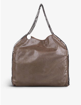 Pre-loved Stella McCartney faux-leather tote bag