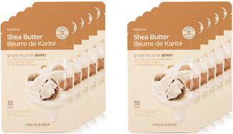The Face Shop Real Nature Shea Butter Face Mask Moisturizing 10Pk